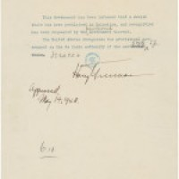 Featured Document – Statement by President Truman