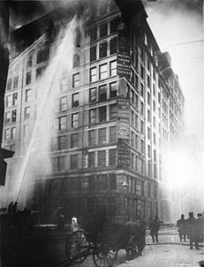 Triangle Shirtwaist Factory Fire, 1911