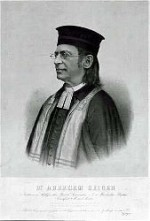 Abraham Geiger, leader of the movement to Reform Judaism in Germany, 19th c.
