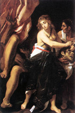 Judith with the head of Holofernes, by Giovanni Baglione (1608)