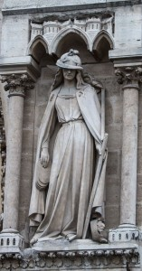 Synagoga, Notre Dame Cathedral, Paris